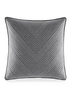 Nautica Bluffton Quilted Chevron Decorative Pillow