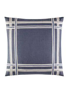 Nautica Fairwater Applique Decorative Pillow