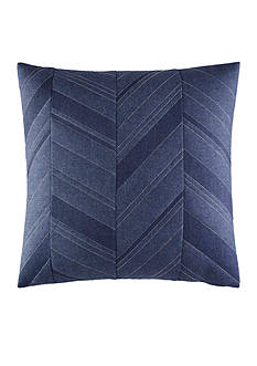 Nautica Cunningham Pieced Chevron Decorative Pillow