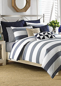 Nautica Lawndale Navy Bedding Collection