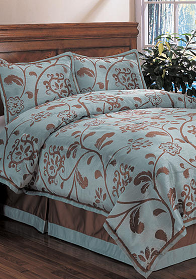 Home Fashions International Belle Floral 4-Piece Bedding Set - Online Only
