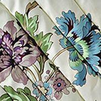 Waverly Bed & Bath Sale: Cream Waverly CCHIRP DEC LRKSPR 20