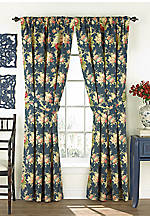 Sanctuary Rose Floral Drapery Pair 50-in. x 84-in.