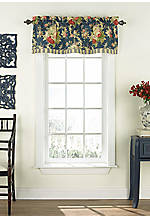 Sanctuary Rose Floral Valance 16-in. x 52-in.