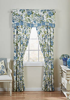 Waverly FLORAL ENGAGEMENT DRAPERY PAIR