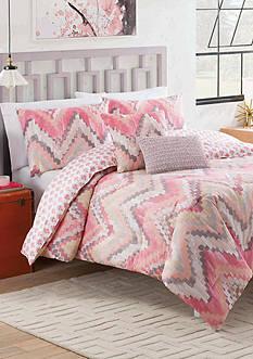 Vue Masie 5-Piece Reversible Comforter Set