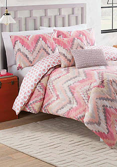 Vue Masie 4-Piece Reversible Comforter Set