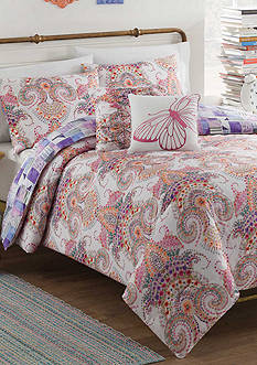 Vue Aria 4-Piece Reversible Comforter Set