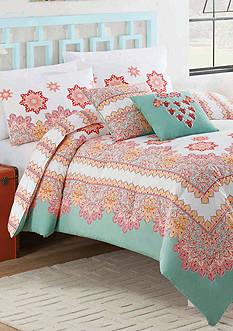 Vue Mantra 4-Piece Reversible Comforter Set