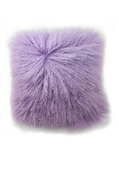 Blissliving HOME Tanzania Halima Lamb Fur Decorative Pillow