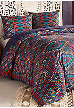 Berber Textile King Duvet Set