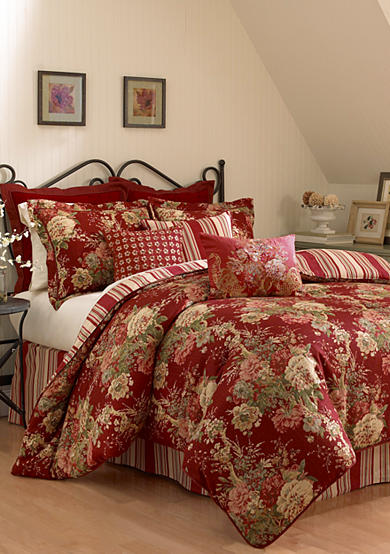 Waverly 174 Ballad Bouquet Bedding Collection Online Only