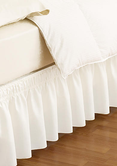 Ellery Homestyles EasyFit™ Wrap Around Solid Ruffled Bed Skirt - Online Only