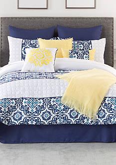 Home Accents Bali Queen 10-Piece Comforter Set