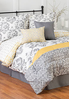 Home Accents 6PC JOANNA TURNSTYLE COMFORTER SET - FULL