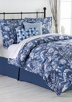 Home Accents Lorelei Full Reversible 6-Piece Bed-In-A-Bag