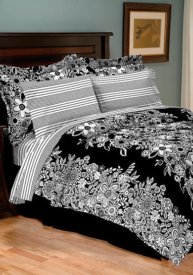 Home Accents® Turnstyles Neela Reversible 8-Piece Bedding Ensemble