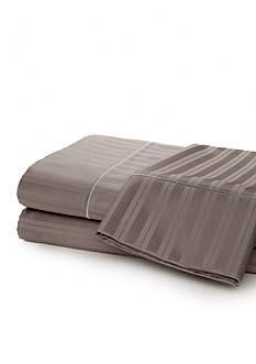 Biltmore® 610 Thread Count Flexi Fit Damask Stripe Standard Pillowcase 21-in. x 32-in.