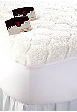 Sherpa Quilted Heated Queen Mattress Pad 60-in. x 80-in.