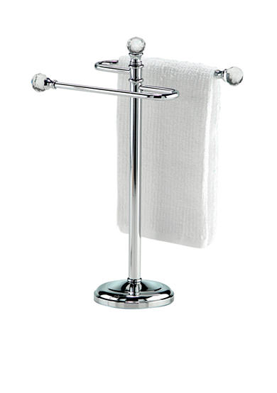 Taymor® Mini Towel Stand with Crystal Chrome