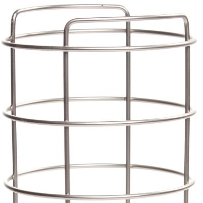 Taymor Bed & Bath Sale: Satin Nickel Taymor Three Roll Toilet Tissue Basket