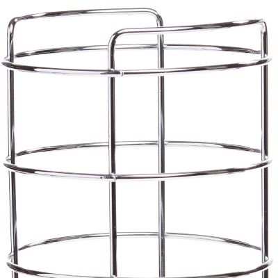 Taymor Bed & Bath Sale: Chrome Taymor Three Roll Toilet Tissue Basket
