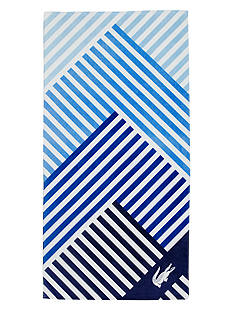 Lacoste Horizon Beach Towel