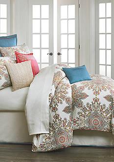 Biltmore Garden Medallion Queen Comforter Set