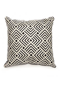 Biltmore Ramble Square Crewel Embroidery Decorative Pillow