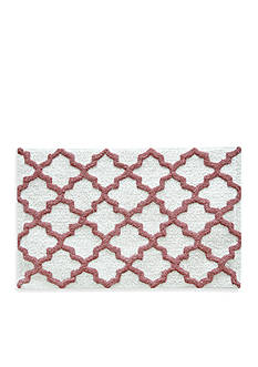 Jessica Simpson Quatrefoil Bath Rug Collection - Online Only