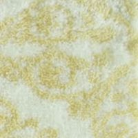 Bath Mats: Yellow Jessica Simpson Ornamental Bath Rug