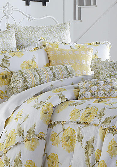 MaryJane's Home Watercolor Floral Bedding Collection