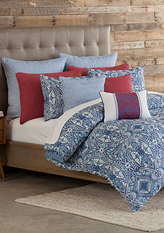 Home Accents Casual Living Tully King Reversible Comforter Mini Set 106-in. x 94-in.