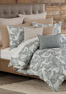 Home Accents Casual Living Bailey Full/Queen Reversible Duvet Mini Set 92-in. x 96-in.