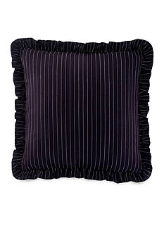 Ralph Lauren Seville Pinstripe Square Pillow 18-in. x 18-in.