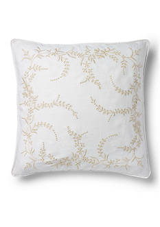 Ralph Lauren WHITBEY EMB DEC PILLOW