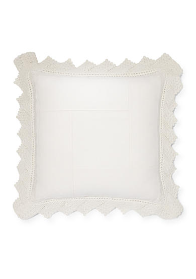 Ralph Lauren Kayla Crocheted Decorative Pillow