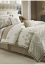 Marrakesh Natural Queen Duvet 92-in. x 96-in.