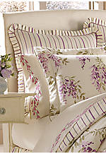Wisteria Striped Euro Sham 25-in. x 25-in.