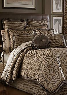 J Queen New York Luxembourg Mink Comforter Set