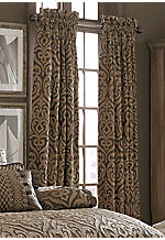 Luxembourg Mink Waterfall Swag Valance 42-in. x 33-in.