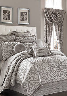 J Queen New York Luxembourg California King Comforter Set