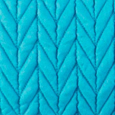 Solid Bedding: Turquoise J by J Queen New York Camden Turquoise King Quilted Sham