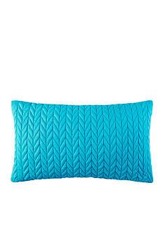 J by J Queen New York Camden Turquoise Boudoir Pillow
