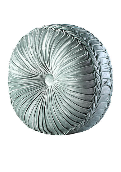 Tufted Round Decorative Pillow : J Queen New York Colette Tufted Round Decorative Pillow Belk
