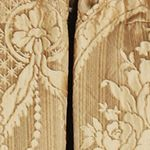 Formal Designer Bedding: Gold J Queen New York Napoleon 84 Panel Pair
