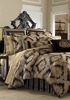 J Queen New York Onyx California King Comforter Set