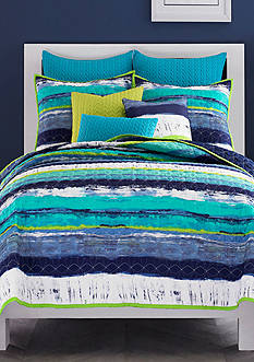 J by J Queen New York Cordoba Full/Queen Coverlet