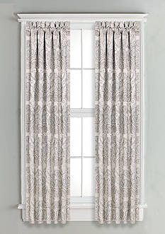 J Queen New York Romance Window Panel Pair