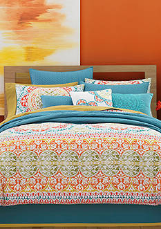 J by J Queen New York Farah Comforter Set